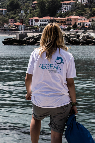 Aegean Rebreath Donation with Branded T-shirt