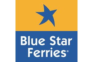 Aegean Rebreath Blue Star Ferries Donor Logo