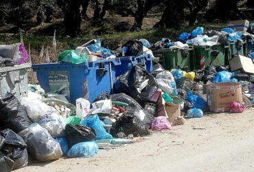 Tons of garbage in Zante Island   Aegean Rebreath