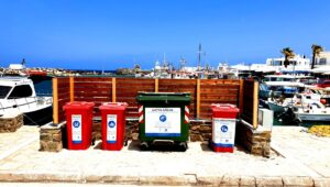 Paros Marine Litter station by Aegean Rebreath