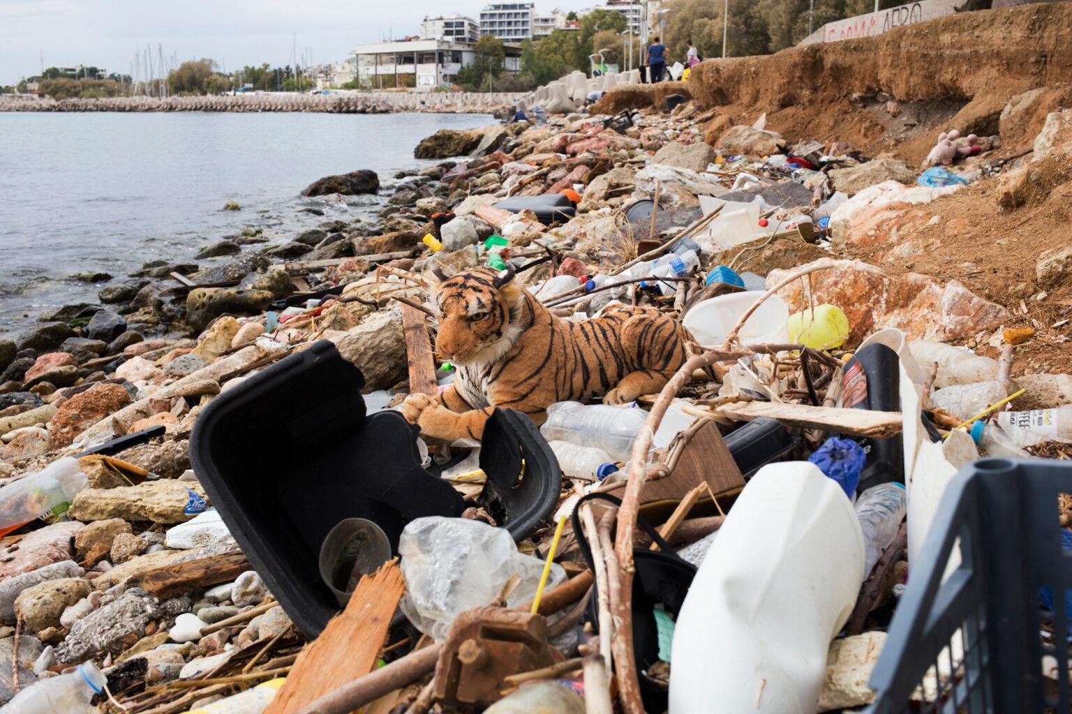 Coastal Cleaning in Peace & Friendship Stadium   Aegean Rebreath