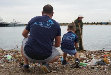 Coastal Cleaning in Peace & Friendship Stadium | Aegean Rebreath