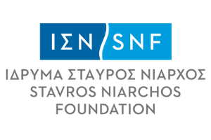Stavros Niarchos Foundation logotype