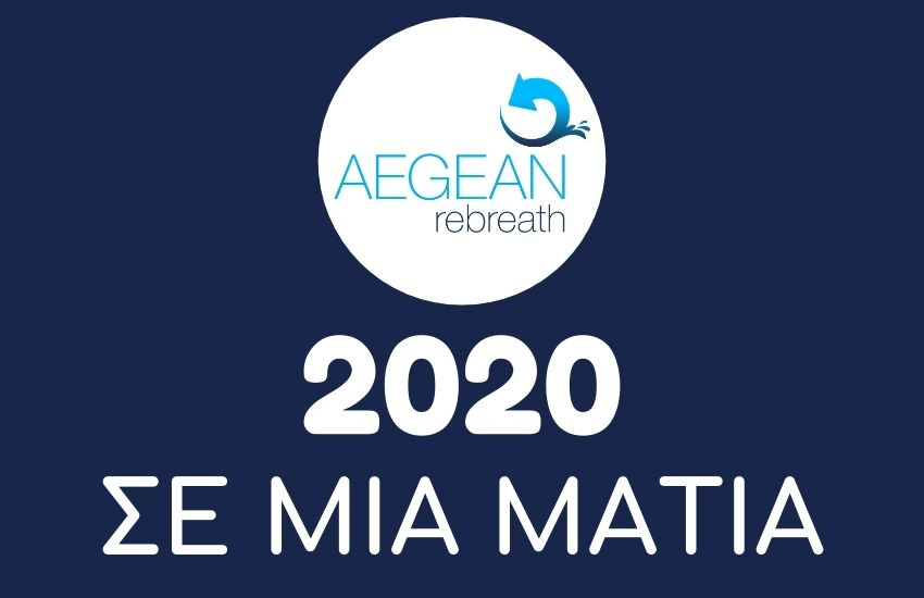 Aegean Rebreath actions for 2020 in a glance