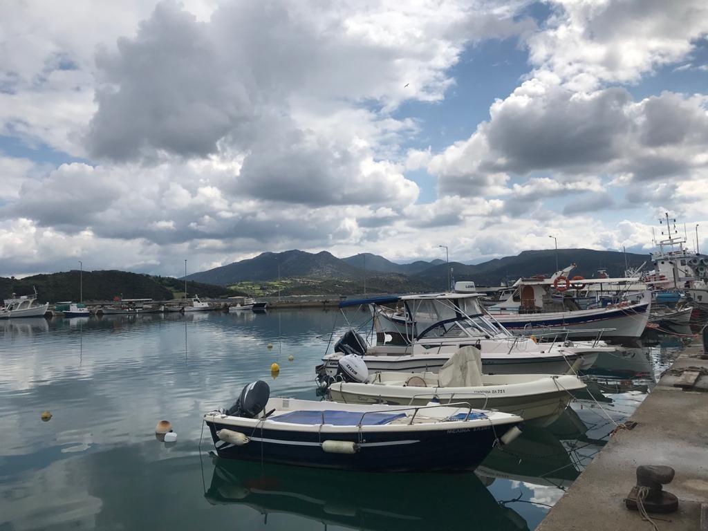 Επίσκεψη του Υφυπουργού Περιβάλλοντος και Ενέργειας, Γιώργου Αμυρά, στον Σταθμό Συλλογής Θαλάσσιων Απορριμμάτων της Aegean Rebreath στη Λυγιά Λευκάδας